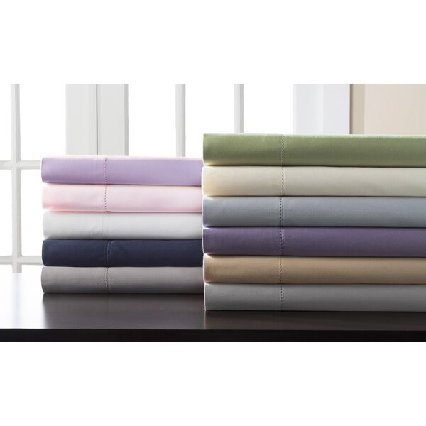 Castorena Dearmond 400 Thread Count 100% Cotton Sheet Set by Eider & Ivory